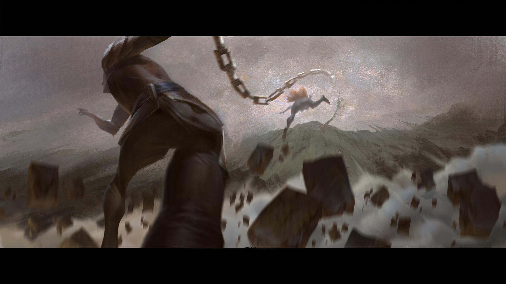 Garen Katarina EnemyofmyEnemy Cinematic concept 18