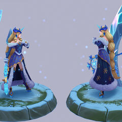 Winter Wonder Soraka Model 3 (by Riot Artist <a href=