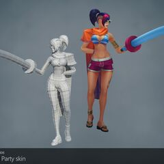 Pool Party Fiora Model (by Riot Artists <a href=