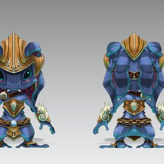 Atlantean Fizz Concept (by Riot Artist <a href=