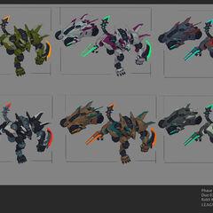 Mecha Rengar Concept 3 (by Riot Artist <a href=