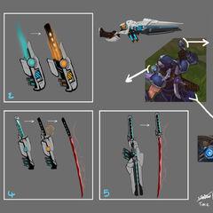 Pulsefire Shen Concept 6 (by Riot Artist <a href=