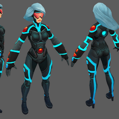 PAX Sivir Update Model 2 (by Riot Artists <a href=