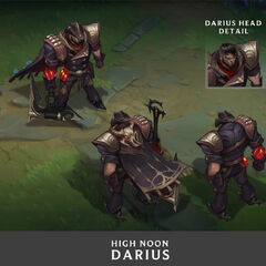 High Noon Darius Concept 1 (by Riot Artist <a href=
