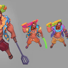 Pool Party Gangplank Concept (by Riot Artist <a href=