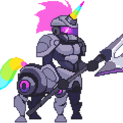 Pixelowa podobizna Arcade Hercarima