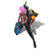 Jinx Odyssey (Rose Quartz)