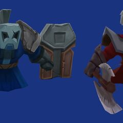 Blue and Red melee minions