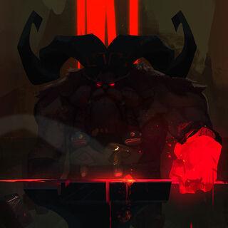 Ornn Concepto 4 (por el artista de Riot <a rel=