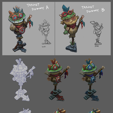 Teemo Target Dummy Concept 2 (by Riot Artist <a rel=