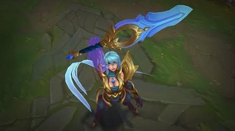 Dawnbringer Riven VS. Skin Preview - League of Legends