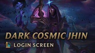 Jhin Mrocznego Kosmosu - ekran logowania