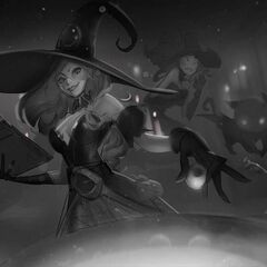 Bewitching Miss Fortune Splash Concept 2 (by Riot Artist <a rel=