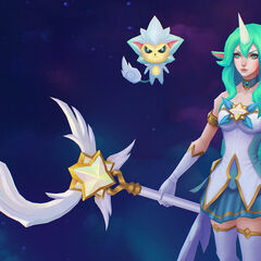 Star Guardian Soraka Model 5 (by Riot Artist <a href=
