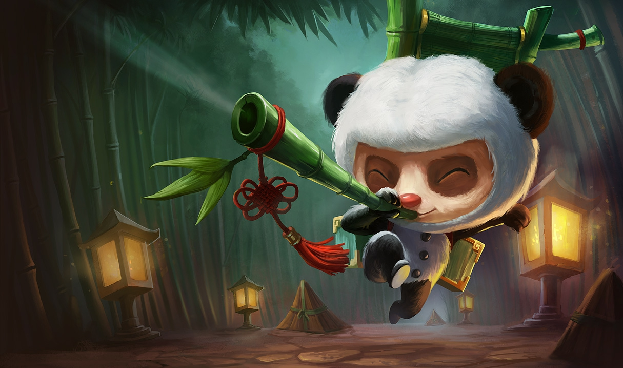 Teemo Panda-Teemo S