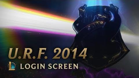 U.R.F. 2014 - Login Screen