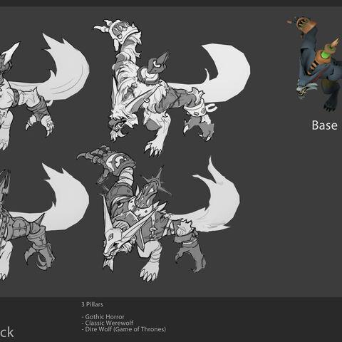 Grafika koncepcyjna aktualizacji Szarego Warwicka 2 (w wykonaniu Davida Ko])