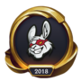 Worlds 2018 Misfits Gaming (Gold) Emote