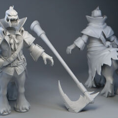 Headless Hecarim Model (by Riot Artist <a class=