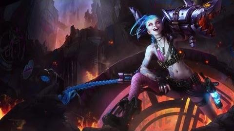 League of Legends JINX Login Theme