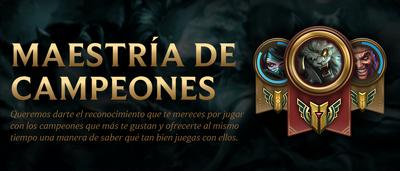 Maestría de Campeones 1