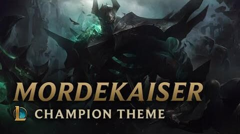 Mordekaiser, the Iron Revenant - Login Screen