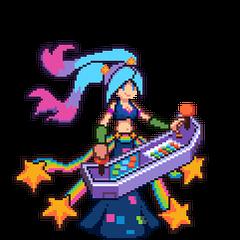 Pixelowa podobizna Arcade Sony