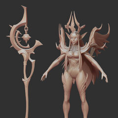Nightbringer Soraka Model 4 (by Riot Artist <a href=