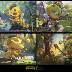 Beemo Splash Concept 1 (by Riot Artist <a href=
