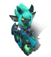 Tristana LittleDemon (Turquoise)