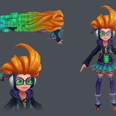 CyberPop Zoe Model 2 (by Riot Artist <a href=