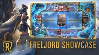 Freljord Region Showcase Gameplay - Legends of Runeterra