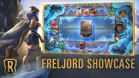 Freljord Region Showcase Gameplay - Legends of Runeterra