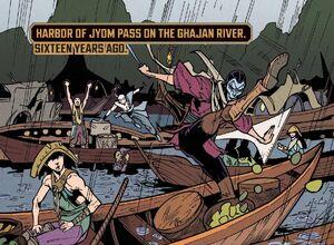 Ghajan River Zed Comic