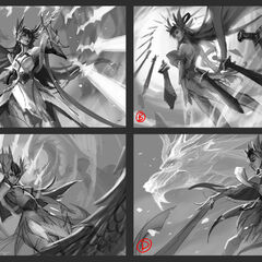 Divine Sword Irelia Splash Concept 1 (by Riot Arist <a href=