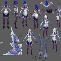 Silver Kayle Update Model 2 (by Riot Artists <a href=