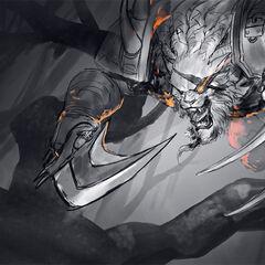 Rengar Splash Concept 2 (by Riot Artist <a href=
