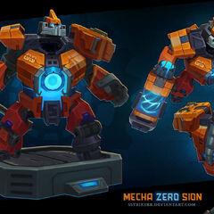 Mecha Zero Sion Model 1 (by Riot Artist <a href=