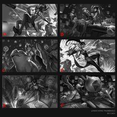 Firecracker Vayne Splash Concept 1 (by Riot Artist <a href=