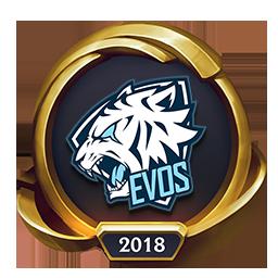 Worlds 2018 EVOS Esports (Gold) Emote