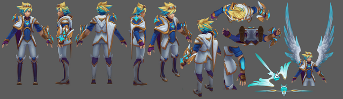 Ezreal Update Sternenwächter Model 01