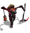 Fiddlesticks Bandito (Ruby)