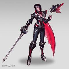 Nightraven Fiora Update Concept 5 (by Riot Artist <a href=