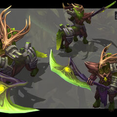 Elderwood Hecarim Model 2 (by Riot Artist <a href=