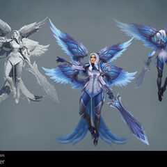 Silver Kayle Update Model 1 (by Riot Artists <a href=