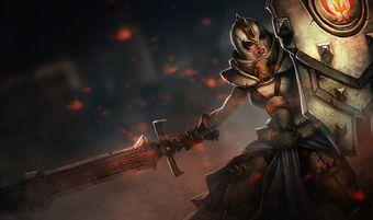 Leona DefenderSkin