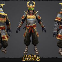 Samurai Yi Update Model 2 (by Riot Artists <a rel=