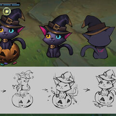 Pumpkin Cat Ward Concept (by Riot Artist <a rel=