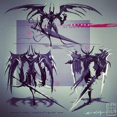 Aatrox Concept 2 (by Riot Artist <a href=