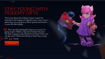 Annie-gifting